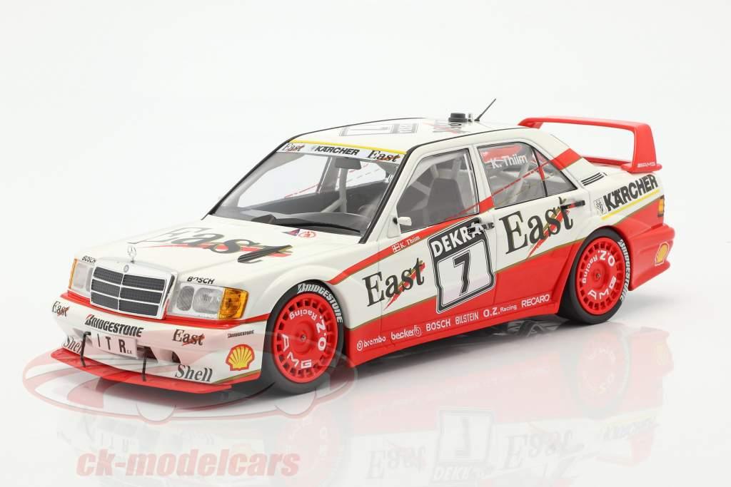 Mercedes-Benz 190E 2.5-16 Evo 2 #7 DTM 1991 Kurt Thiim 1:18 Minichamps
