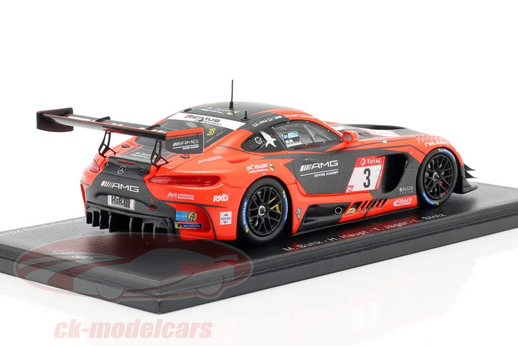 Mercedes-Benz AMG GT3 #3 2e 24h Nürburgring 2019 Team Black Falcon 1:43 Spark