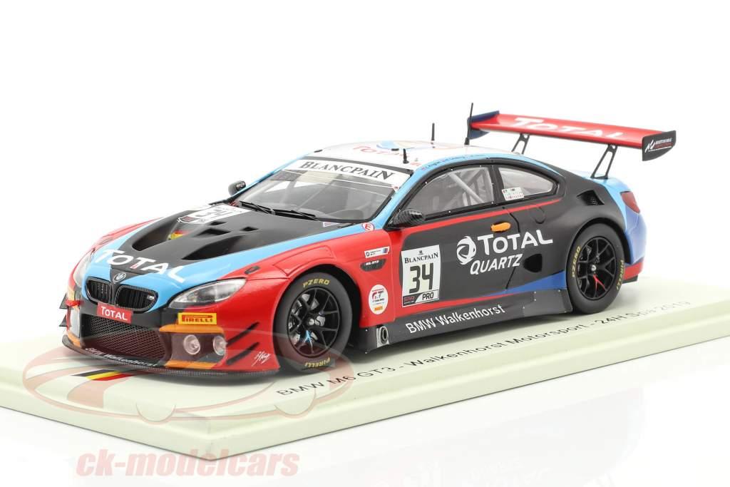 BMW M6 GT3 #34 24h Spa 2019 Jensen, Catsburg, Krognes 1:43 Spark