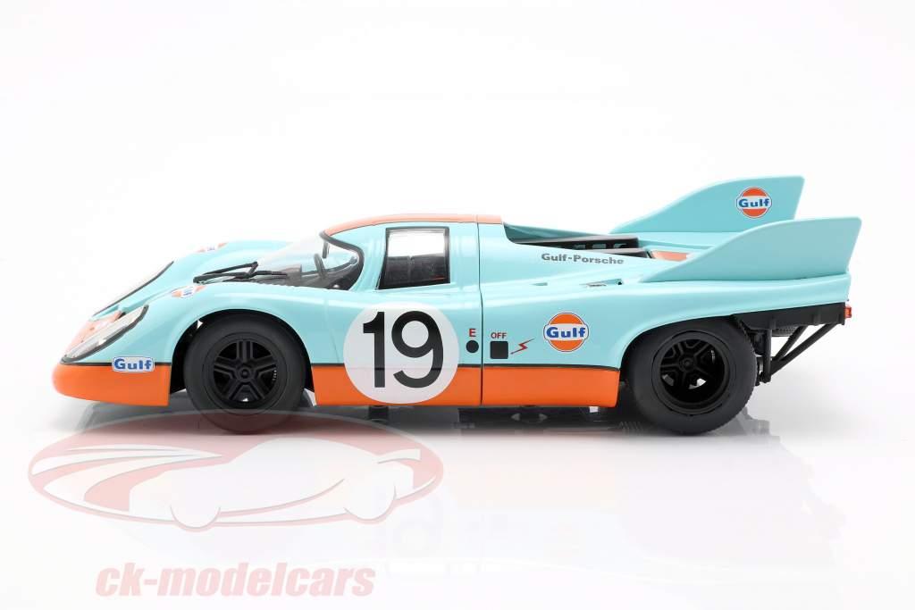 Porsche 917K Gulf #19 2e 24h LeMans 1971 Attwood, Müller 1:18 CMR