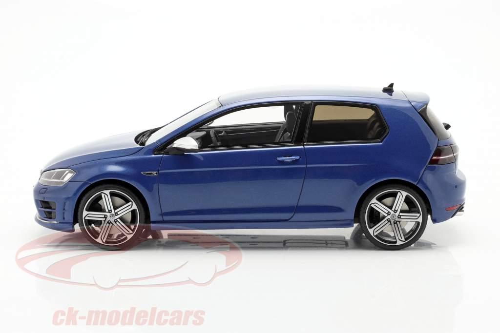 Volkswagen VW Golf 7R Año de construcción 2014 lapiz azul 1:18 OttOmobile
