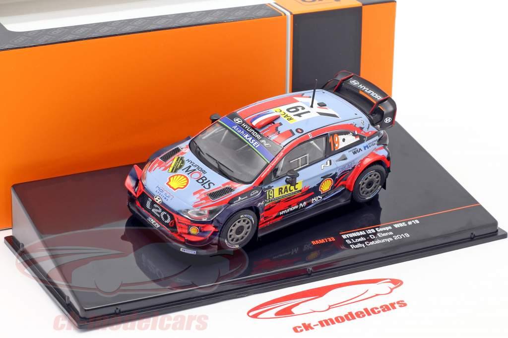 Hyundai i20 Coupe WRC #19 4. Rallye Catalunya 2019 Loeb, Elena 1:43 Ixo