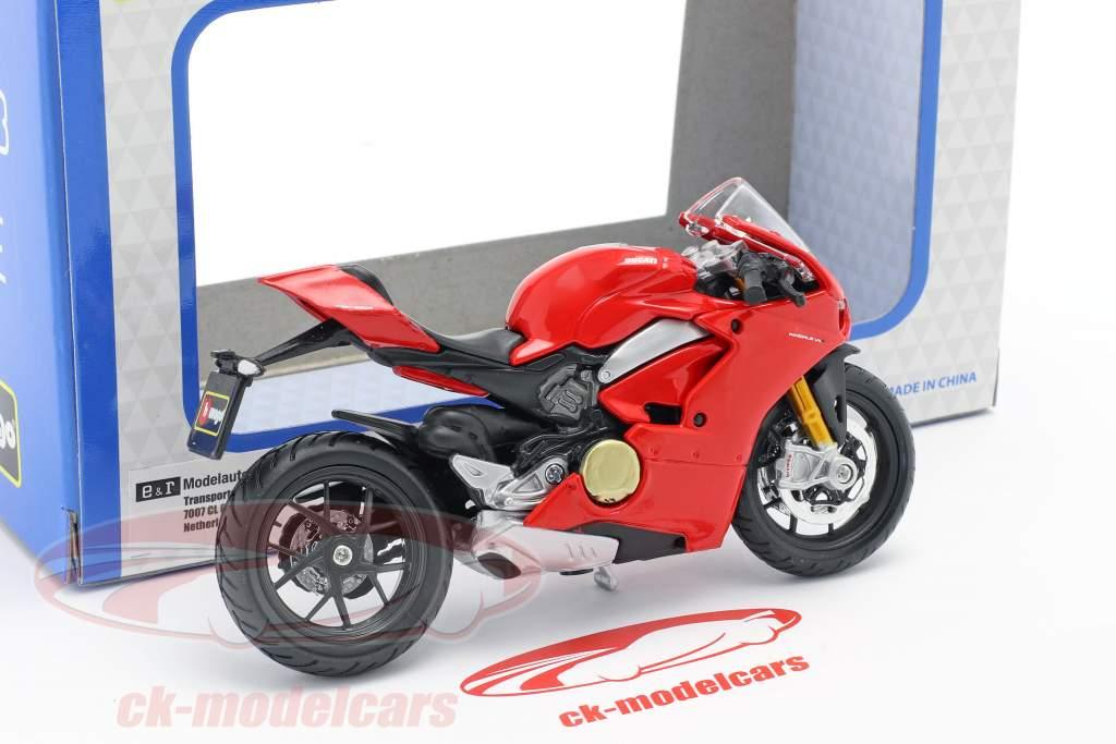 Ducati Panigale V4 rojo 1:18 Bburago