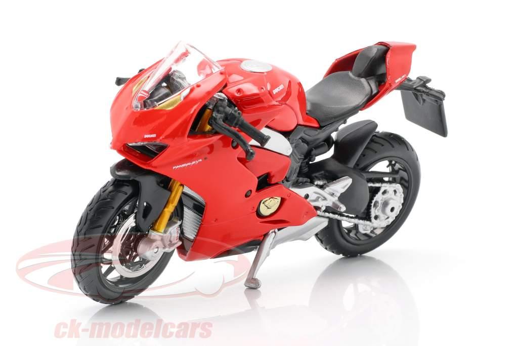 Ducati Panigale V4 rouge 1:18 Bburago