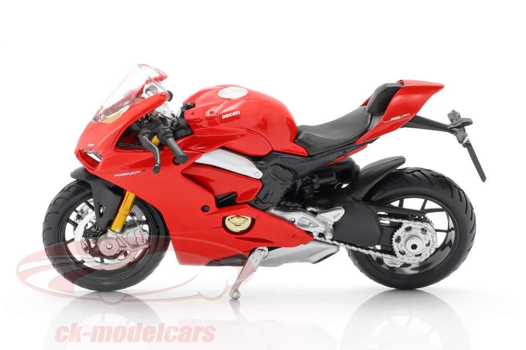 Ducati Panigale V4 rot 1:18 Bburago