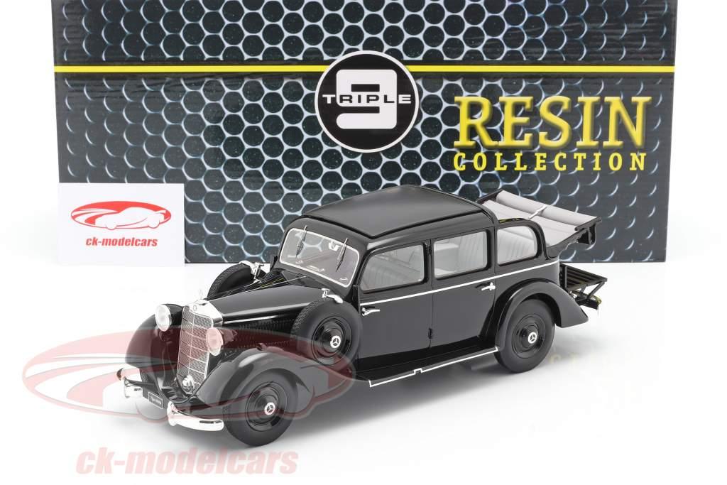 Mercedes-Benz 260 D (W138) Pullman Landaulet 1936 schwarz 1:18 Triple9