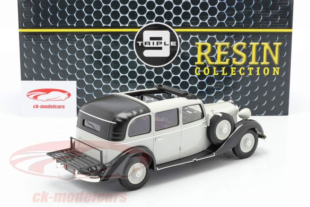 Mercedes-Benz 260 D (W138) Pullman Landaulet 1936 gris 1:18 Triple9