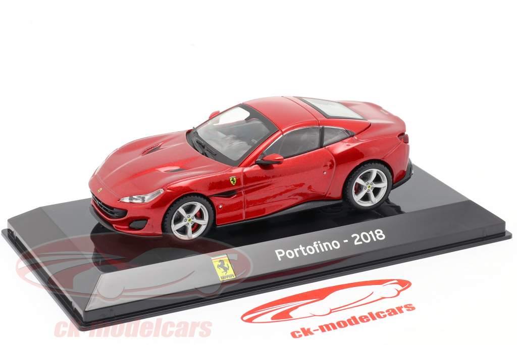 Ferrari Portofino year 2018 red 1:43 Altaya