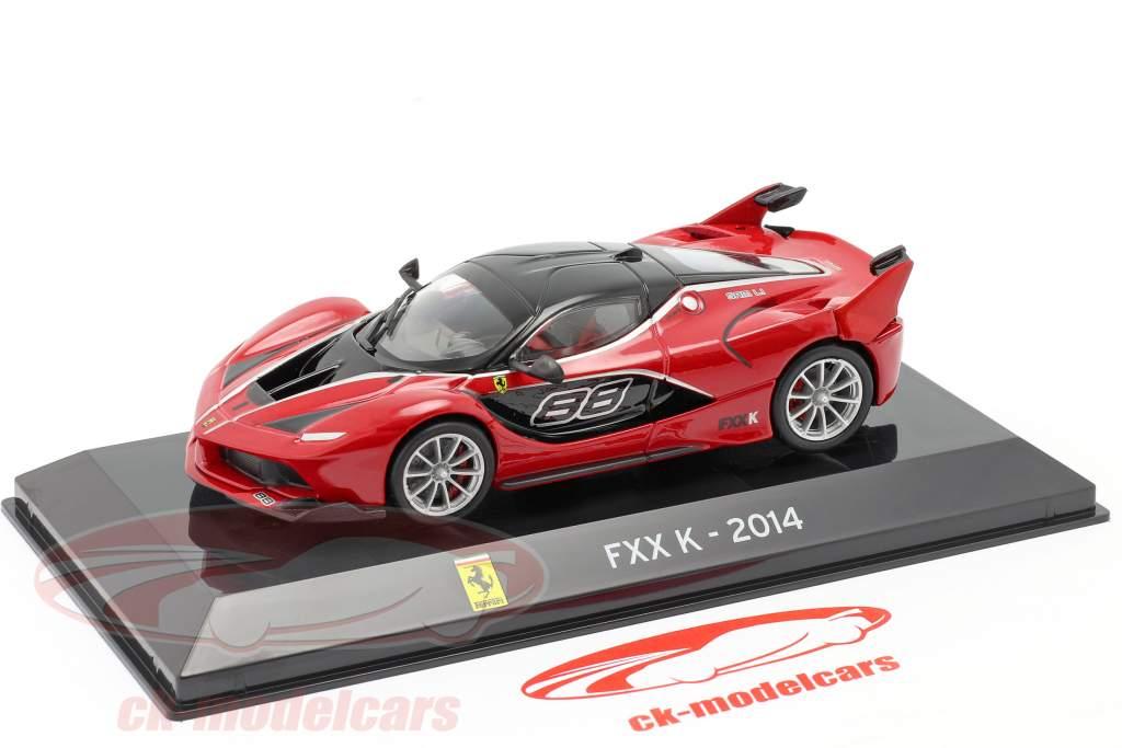 SC12 Auto 1//43 SALVAT Supersportwagen Ferrari Fxx K 2014 #88