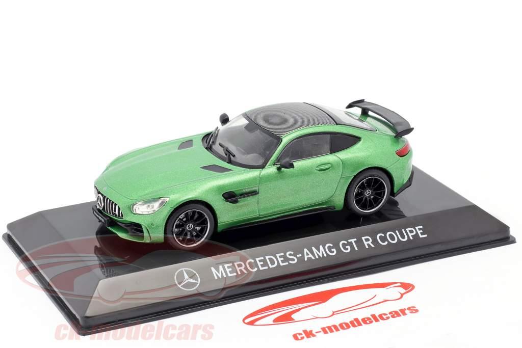 Mercedes-Benz AMG GT R Coupé (C190) grøn helvede magno 1:43 Altaya