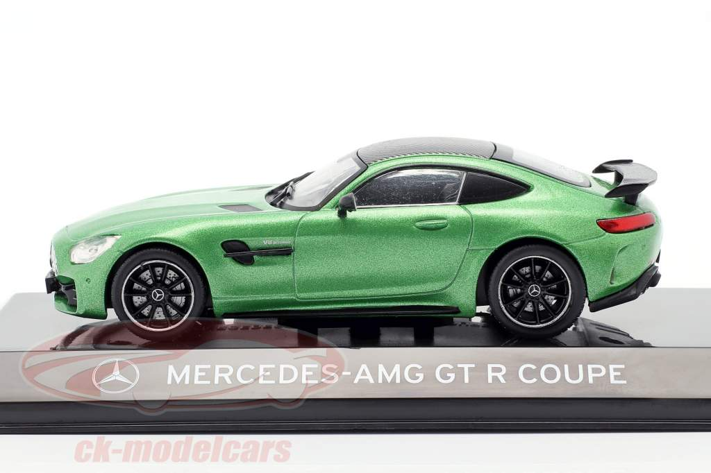 Mercedes-Benz AMG GT R Coupé (C190) infierno verde magno 1:43 Altaya