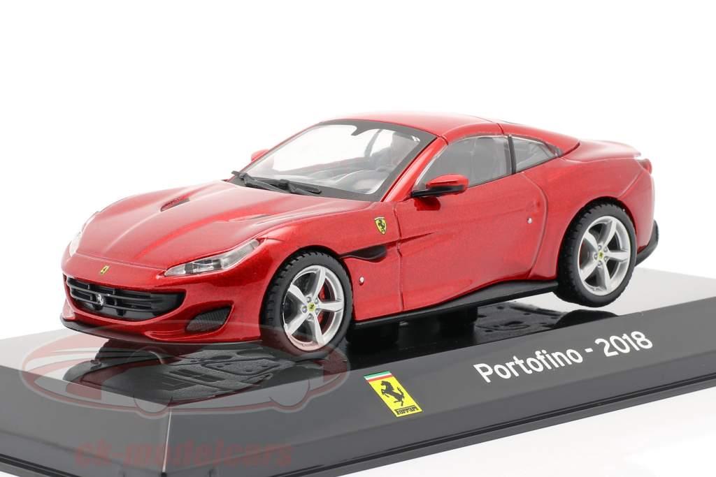 Ferrari Portofino anno 2018 rosso 1:43 Altaya