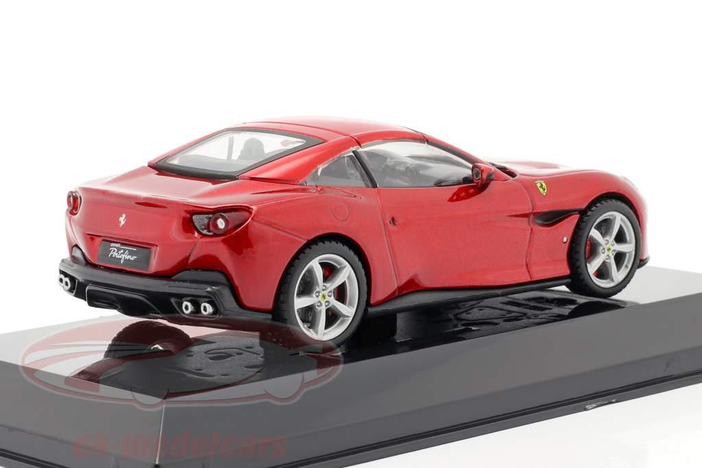 Ferrari Portofino år 2018 rød 1:43 Altaya
