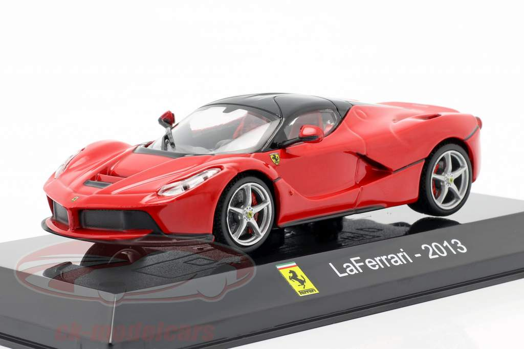 Ferrari LaFerrari Baujahr 2013 rot / schwarz 1:43 Altaya