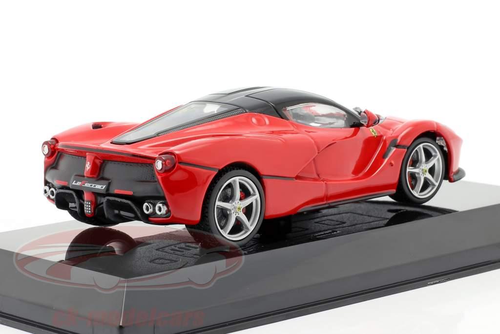 Ferrari LaFerrari bouwjaar 2013 rood / zwart 1:43 Altaya