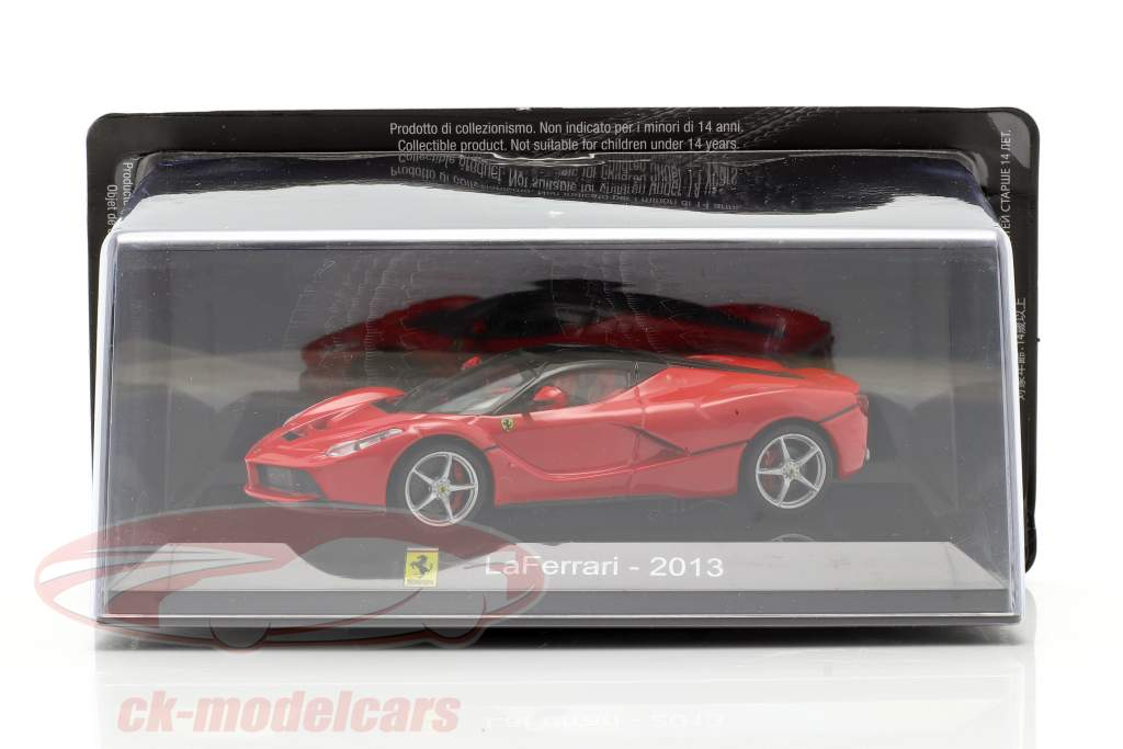 Ferrari LaFerrari ano 2013 vermelho / preto 1:43 Altaya