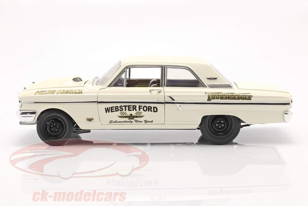 Ford Thunderbolt Hemi Hunter 1964 fløde hvid / guld 1:18 GMP