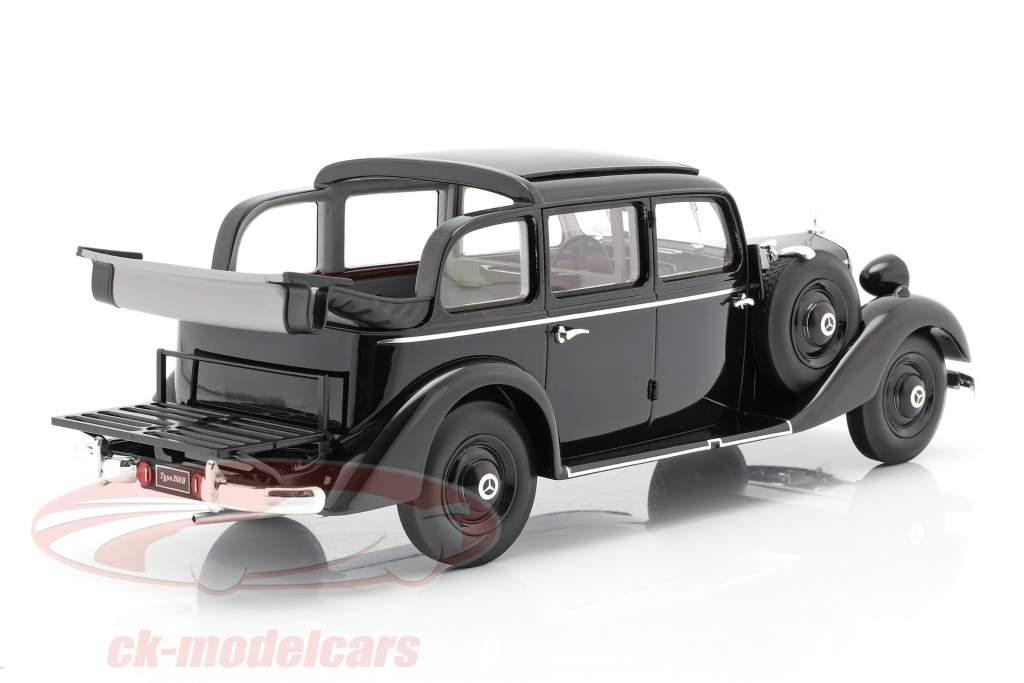 Mercedes-Benz 260 D (W138) Pullman Landaulet 1936 noir 1:18 Triple9
