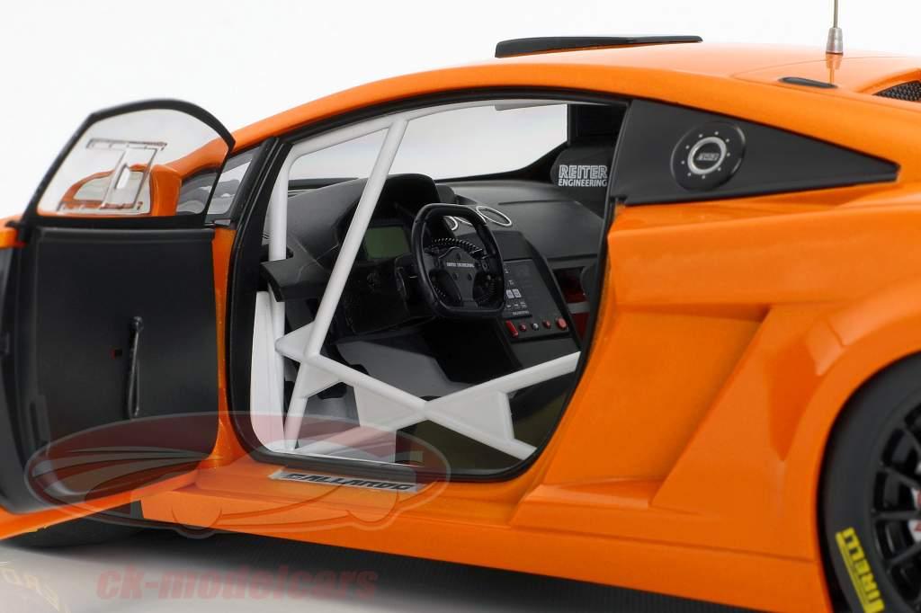Lamborghini Gallardo GT3 FL2 year 2013 orange metallic 1:18 AUTOart