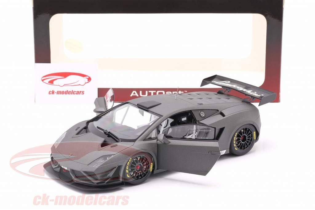 Lamborghini Gallardo GT3 FL2 Année de construction 2013 tapis gris 1:18 AUTOart