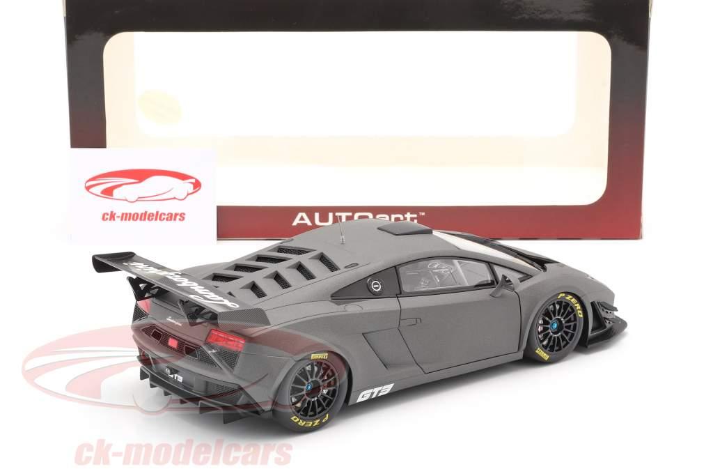 Lamborghini Gallardo GT3 FL2 Ano de construção 2013 esteira cinzento 1:18 AUTOart