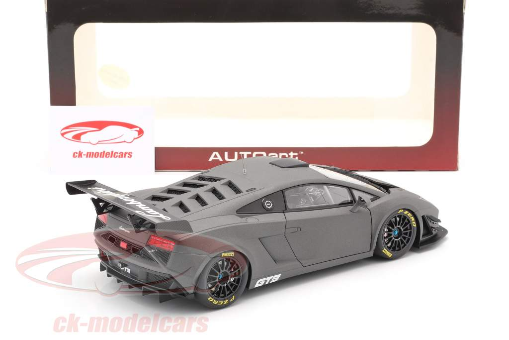 Lamborghini Gallardo GT3 FL2 year 2013 mat grey 1:18 AUTOart
