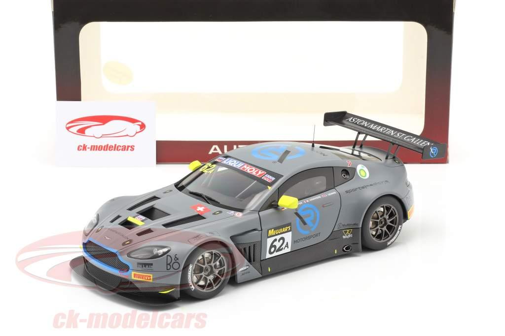 Aston Martin V12 Vantage GT3 #62 2º 12h Bathurst 2019 Dennis, Kirchhöfer, Vaxiviere 1:18 AUTOart