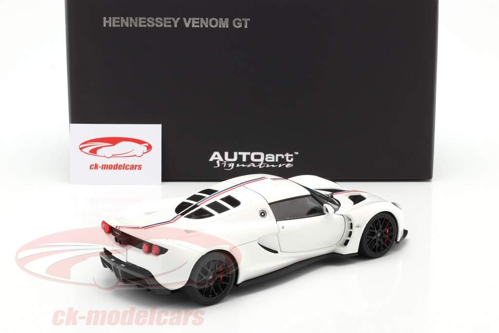 Hennessey Venom GT Coupe Spider Baujahr 2012 weiß 1:18 AUTOart