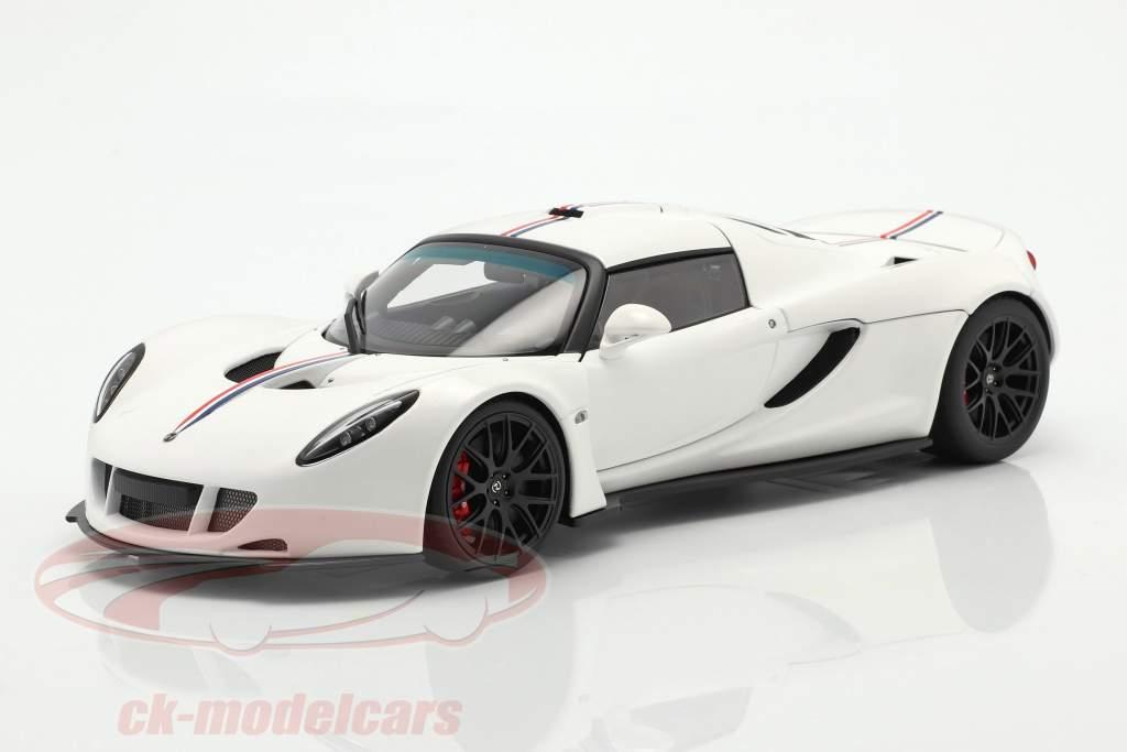 Hennessey Venom GT Coupe Spider Année de construction 2012 blanc 1:18 AUTOart