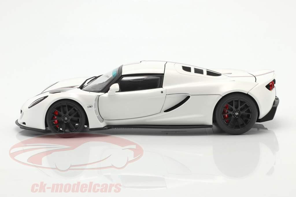 Hennessey Venom GT Coupe Spider Byggeår 2012 hvid 1:18 AUTOart