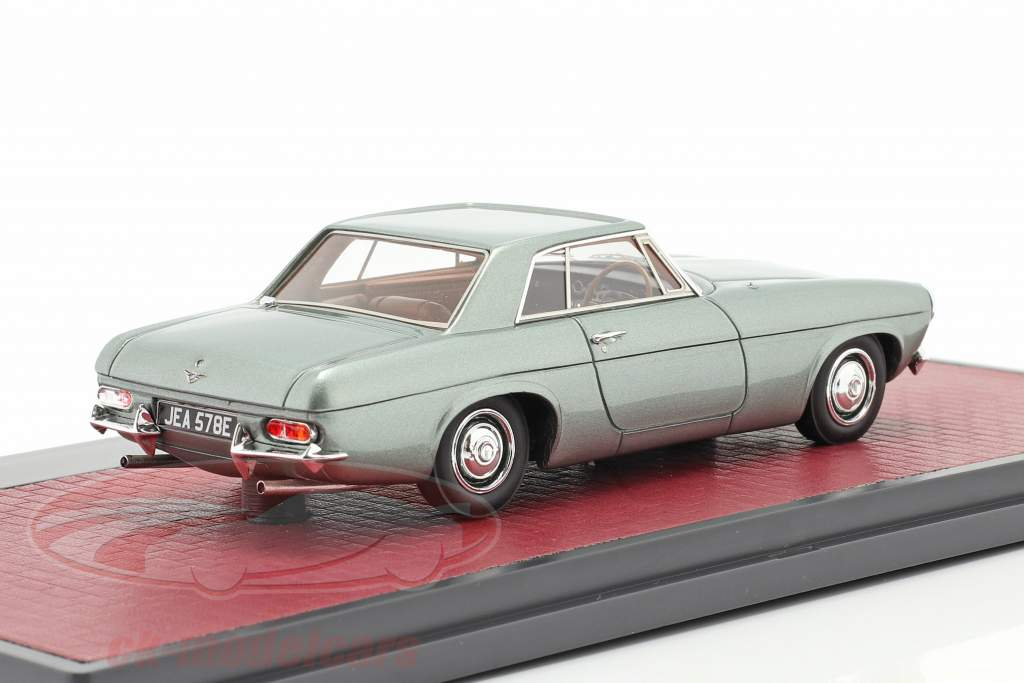 Jensen P-66 Prototype Bouwjaar 1964 groen metalen 1:43 Matrix