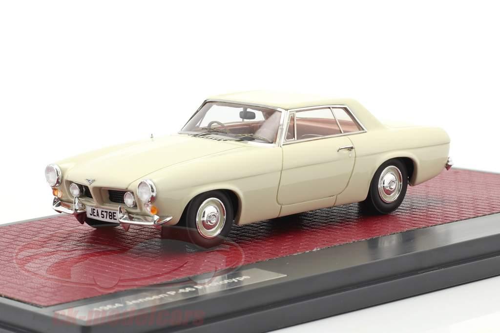 Jensen P-66 Prototype Bouwjaar 1964 Wit 1:43 Matrix