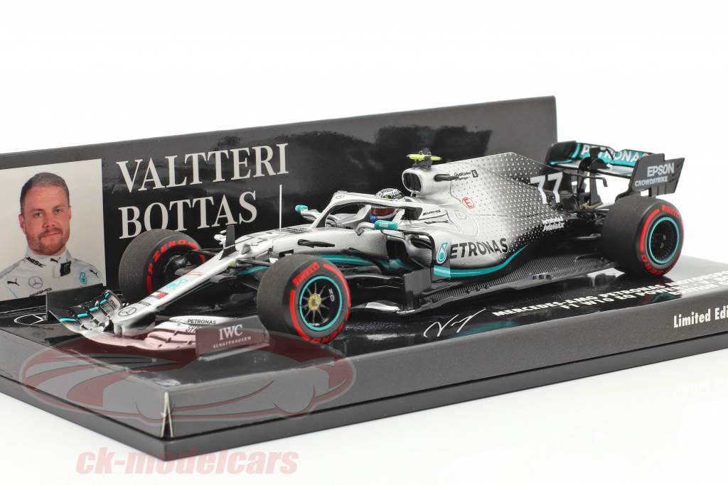 Valtteri Bottas Mercedes-AMG F1 W10 #77 2nd British GP F1 2019 1:43 Minichamps