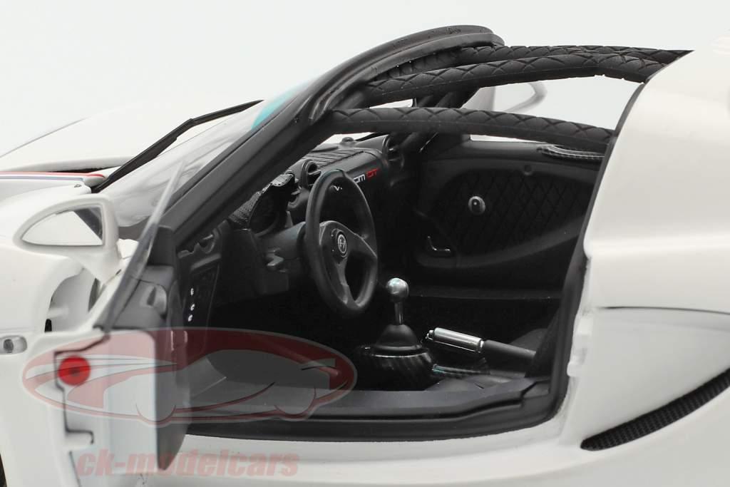 Hennessey Venom GT Coupe Spider year 2012 white 1:18 AUTOart