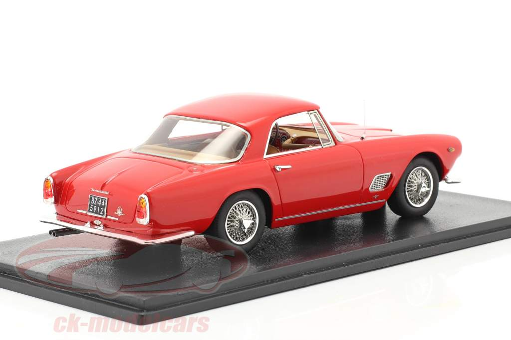 Maserati 3500 GT Touring Coupe year 1957 red 1:43 Neo