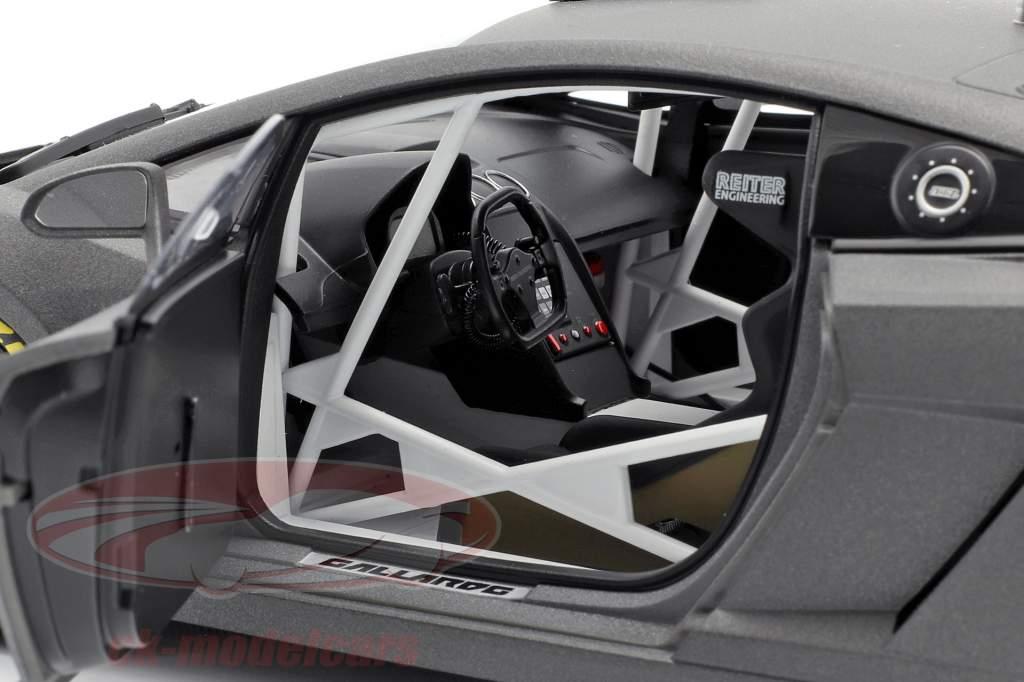 Lamborghini Gallardo GT3 FL2 Byggeår 2013 måtte Grå 1:18 AUTOart