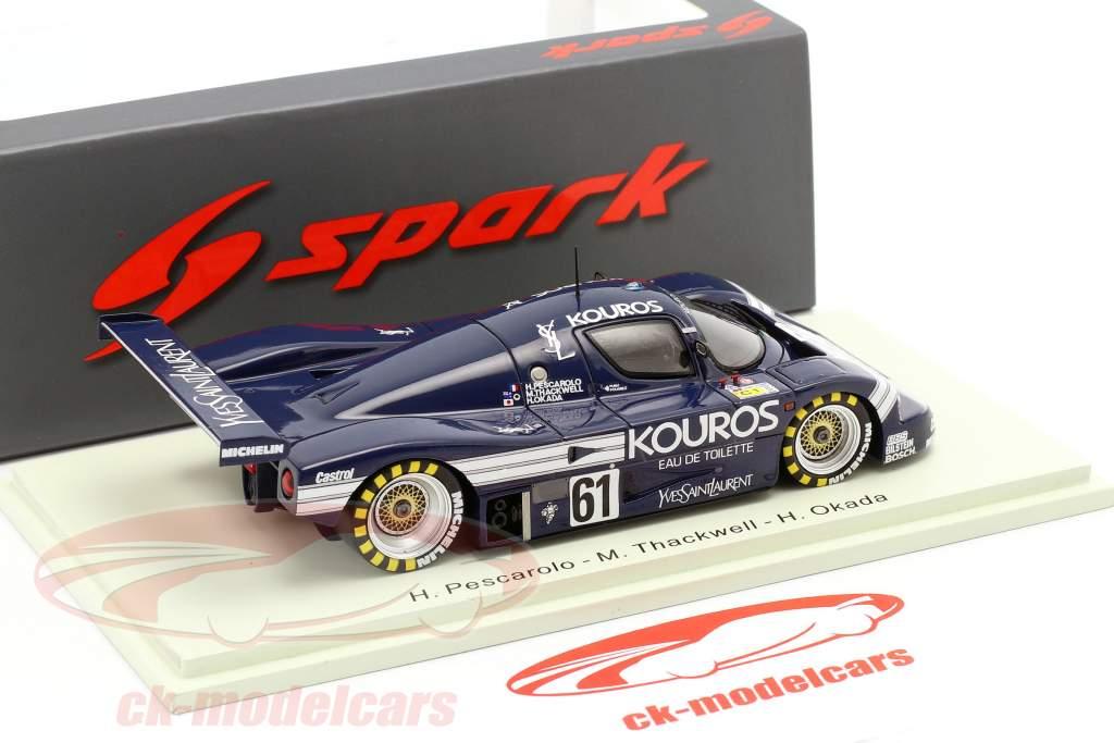 Sauber-Mercedes C9 #61 24h LeMans 1987 Thackwell, Pescarolo, Okada 1:43 Spark