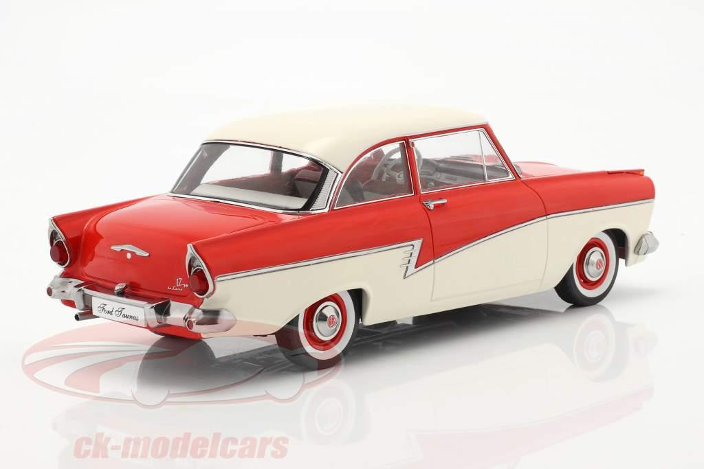Ford Taunus 17M P2 Baujahr 1957 rot / weiß 1:18 KK-Scale