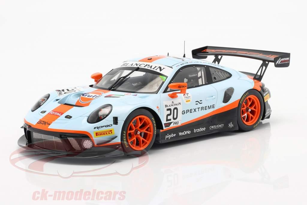 Porsche 911 GT3 R #20 Vincitore 24h Spa 2019 Christensen, Lietz, Estre 1:18 Spark