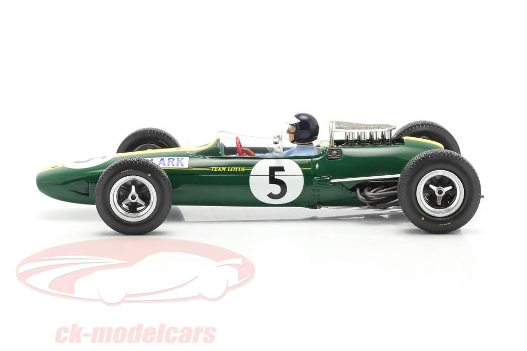 Jim Clark Lotus 33 #5 Weltmeister Großbritannien GP Formel 1 1965 1:18 Spark