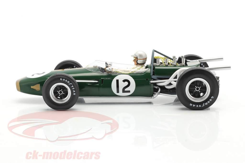 Jack Brabham Brabham BT19 #12 Campeón mundial Francia GP fórmula 1 1966 1:18 Spark
