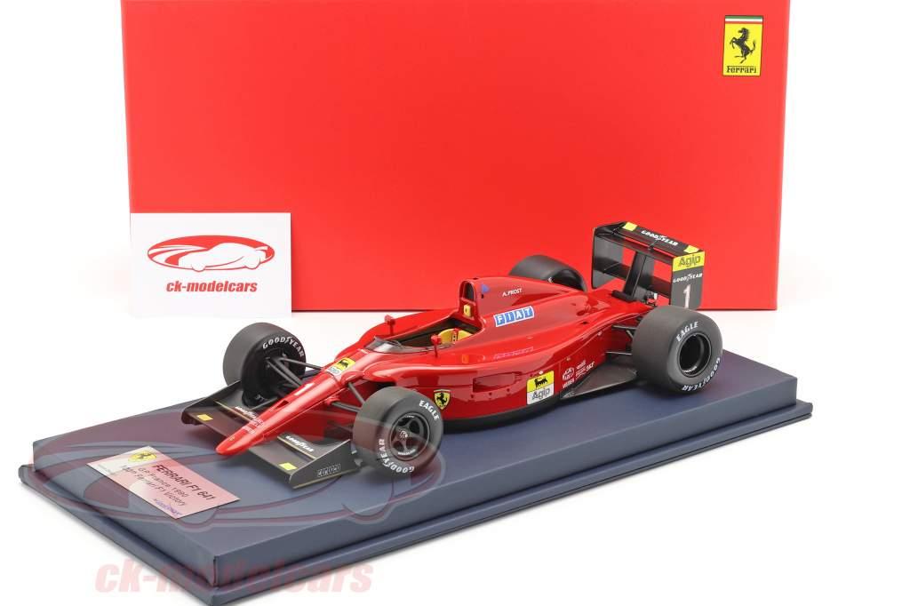 A. Prost Ferrari 641 #1 100º Ferrari Vitória francês GP F1 1990 1:18 LookSmart