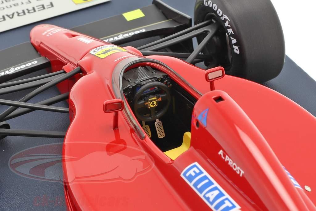 A. Prost Ferrari 641 #1 100th Ferrari Sejr fransk GP F1 1990 1:18 LookSmart