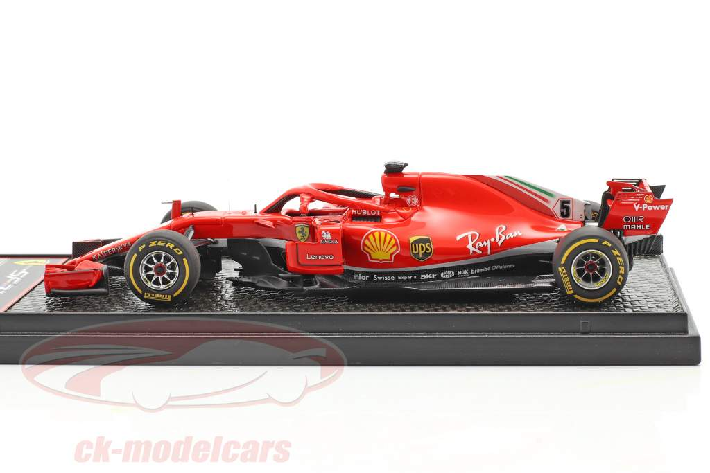 Sebastian Vettel Ferrari SF71H #5 Verenigde Staten GP formule 1 2018 1:43 BBR
