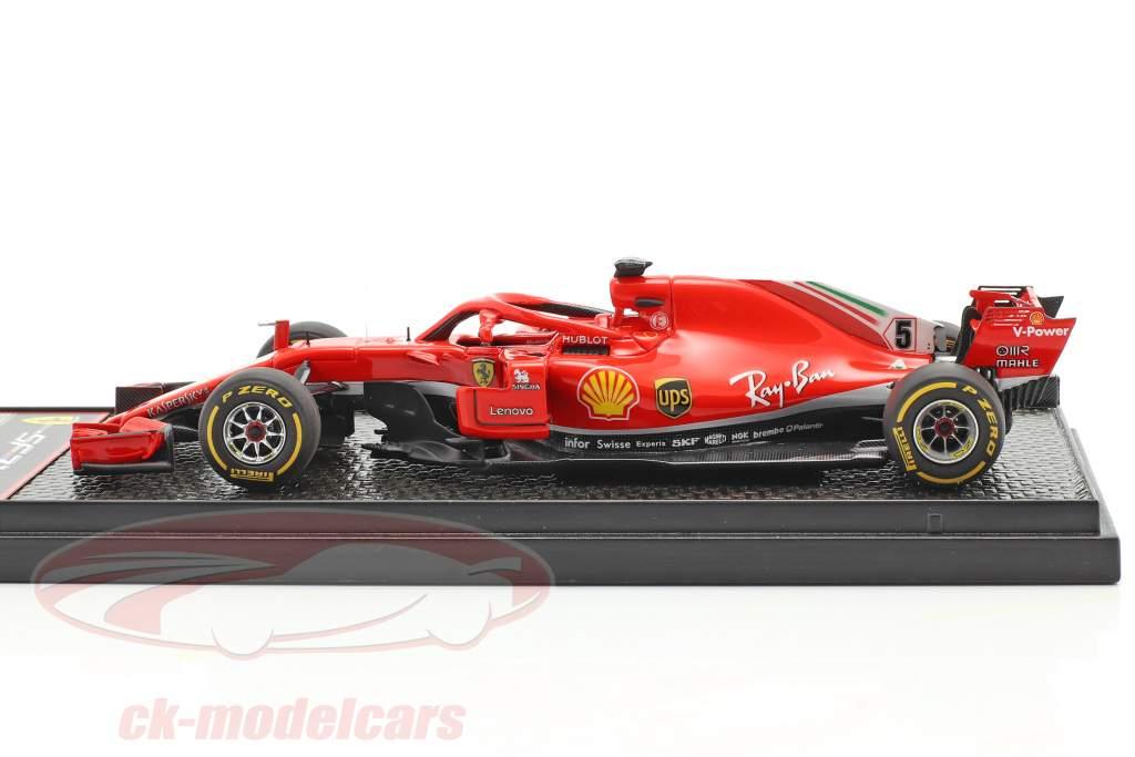 Sebastian Vettel Ferrari SF71H #5 États Unis GP formule 1 2018 1:43 BBR