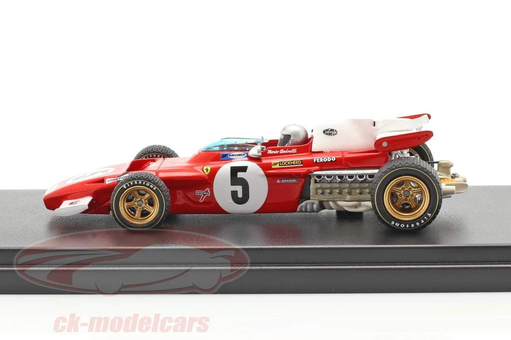 Mario Andretti Ferrari 312B2 #5 4e Duitse GP F1 1971 1:43 LookSmart