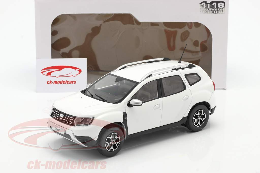 Dacia Duster MK2 year 2018 arctic white 1:18 Solido
