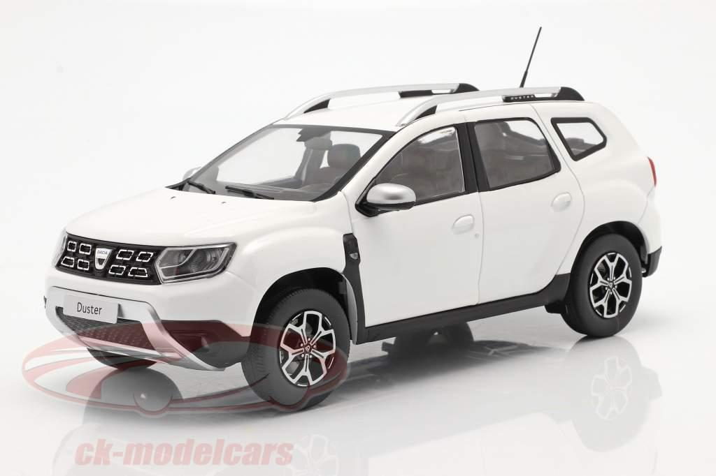 Dacia Duster MK2 Bouwjaar 2018 Arctic Wit 1:18 Solido
