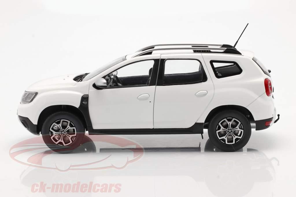Dacia Duster MK2 Année de construction 2018 Arctique blanc 1:18 Solido
