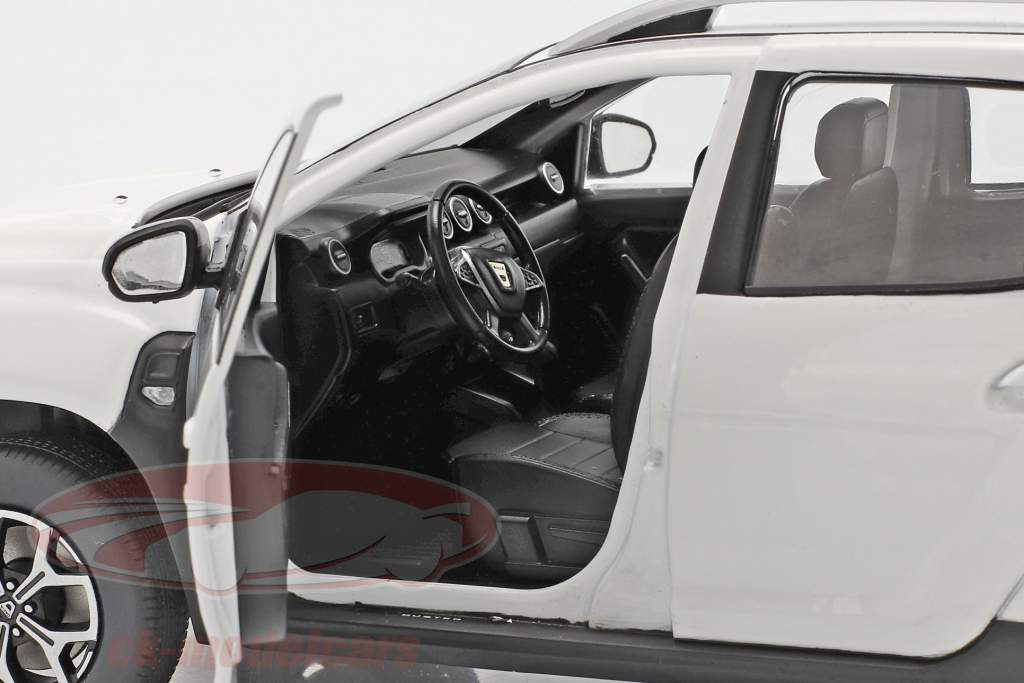 Dacia Duster MK2 Ano de construção 2018 ártico Branco 1:18 Solido